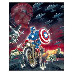 Captain America. Размер: 40 х 50 см
